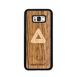 CASE WOODEN SMARTWOODS TRIANGLE SAMSUNG GALAXY S8 PLUS