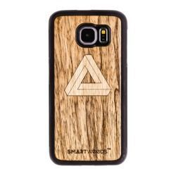 CASE WOODEN SMARTWOODS TRIANGLE Samsung S6 EDGE