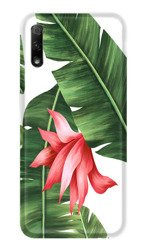 CaseGadget CASE OVERPRINT FERN AND FLOWER HUAWEI HONOR 9X