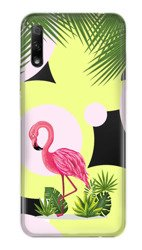 CaseGadget CASE OVERPRINT FLAMINGO AND FLOWERS HUAWEI HONOR 9X