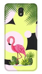 CaseGadget CASE OVERPRINT FLAMINGO AND FLOWERS LG K30 2019