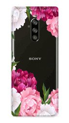 CaseGadget CASE OVERPRINT FLOWERS OF THE WORLD SONY XPERIA 1