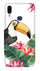 CaseGadget CASE OVERPRINT TOUCAN AND LEAVES SAMSUNG GALAXY A10S