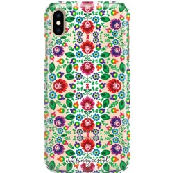 FUNNY CASE OVERPRINT FOLK FLOWERS IPHONE 11 PRO MAX