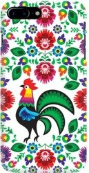 FUNNY CASE OVERPRINT ROOSTER WHITE HUAWEI P SMART Z