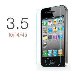 TEMPERED GLASS 9H IPHONE 4 4S