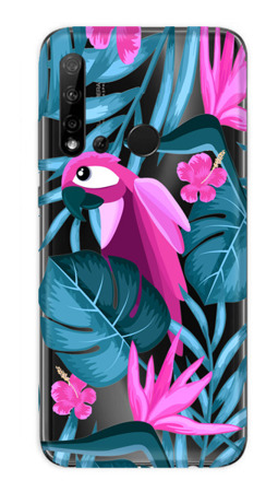 CaseGadget CASE OVERPRINT PARROT AND FLOWERS HUAWEI P20 LITE 2019