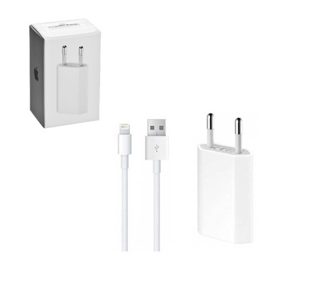 Charger APPLE A1400 + NETWORK CABLE CAN LIGHTNING MD818