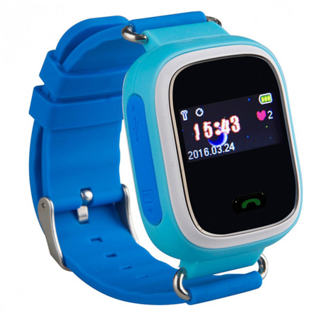 SMART WATCH FOR CHILDREN GPS FOR PARENTS Q60 BLUE