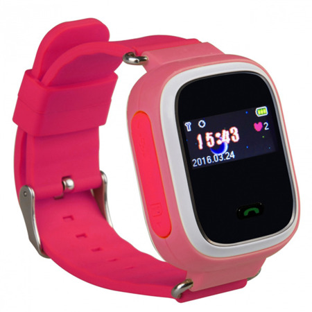 SMART WATCH FOR CHILDREN GPS FOR PARENTS Q60 PINK