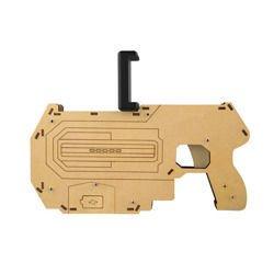 DREWNIANY PISTOLET DO GIER 3D BLUETOOTH VR GUN