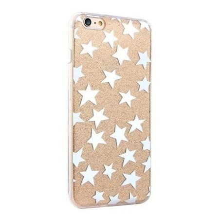 CASE ETUI GLITTER STAR ZŁOTY IPHONE 7 / 8